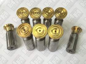 Комплект поршней (9шт.) для колесный экскаватор HYUNDAI R140W-7A (XJBN-00425, XJBN-00437, XJBN-00424)