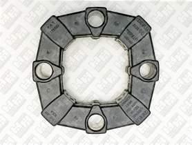 Эластичное соединение (демпфер) для колесный экскаватор JCB JS175W (331/19786, 20/950665, KRJ3451)