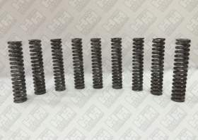 Комплект пружинок (9шт.) для гусеничный экскаватор JCB JS260 (LSP0109)